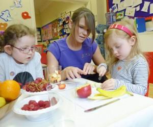 Fruit at Tynemouth Nursery