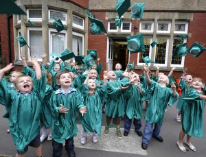 Tynemouth Nursery Graduation Image