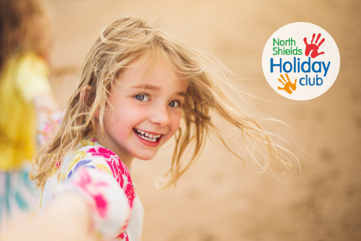 Holiday club in North Tyneside logo and image